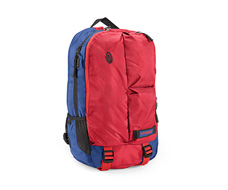 nylon night blue / bixi red / rev red