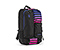 Showdown Laptop Backpack - nylon black / polyester cobalt sunset stripe / nylon black