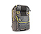 Amnesia Cycling Backpack - coated indie plaid indie plaid / 420d nylon reso yellow / 420d nylon gunmetal