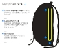 Phoenix Cycling Backpack Diagram