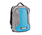 Pisco Backpack for iPad - texture grey / ballistic nylon cold blue