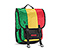 Swig Laptop Backpack - ballistic nylon emerald / reso yellow / bixi red