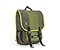 Swig Laptop Backpack - poly weathered canvas peat green canvas / ballistic nylon algae green / poly weathered canvas peat green