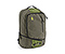 Q Laptop Backpack - poly weathered canvas peat green / nylon algae green / poly weathered canvas peat green