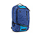 Q Laptop Backpack - nylon night blue / ballistic nylon pacific / nylon night blue