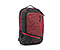 Q Laptop Backpack - nylon black / red devil / black