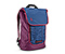 Candybar Backpack for iPad - ballistic nylon village violet / night blue