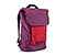 Candybar Backpack for iPad - ballistic nylon rev red