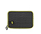 Crater Laptop Sleeve - mesh black / foam gunmetal / ballistic nylon algae green