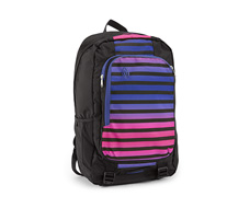 Nylon Black / polyester Cobalt Sunset Stripe / Nylon Black