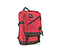 Haight Laptop Backpack - polyester rev red