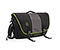 Power Commute Laptop Messenger Bag - ballistic nylon black / gunmetal / black