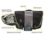 Power Commute Laptop Messenger Bag Diagram