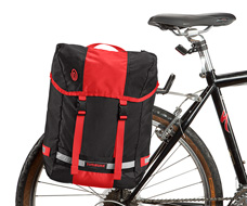 Ballistic Nylon Black / Bixi Red / Black