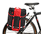 Yield Pannier - ballistic nylon black / bixi red / black