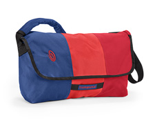 ballistic nylon night blue / bixi Red / rev red