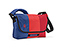 Spin Messenger Bag - ballistic nylon night blue / bixi red / rev red
