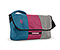 Spin Messenger Bag - ballistic nylon aloha blue / ballistic nylon mulberry / poly tweed confetti