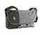 Spin Messenger Bag - ballistic nylon carbon / textured grey texture / textured grey texture