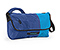 Spin Messenger Bag - ballistic nylon night blue / night blue / pacific