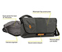 Spin Messenger Bag Diagram