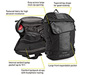 Especial Medio Cycling Backpack Diagram