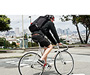 Especial Tres Cycling Backpack In Use