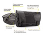 Especial Cycling Messenger Bag Diagram