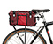 Hunchback Rack Trunk - nylon red devil / crimson / red devil