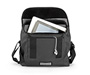 Finder MacBook Laptop Messenger Bag Open