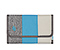 Kindle Fire Professor Jacket - texture grey / ballistic nylon cold blue / canvas tusk grey
