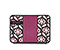 New Kindle & Kindle Paperwhite Flipster Jacket - print lola floral / 420d matte mulberry purple / print lola floral