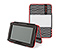 New Kindle Fire Gripster Jacket - print bw polka dots / 630d matte white / print bw polka dots