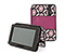 New Kindle Fire Gripster Jacket - print lola floral / 420d matte mulberry purple / print lola floral