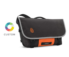 Custom Icon Laptop Messenger Bag Front