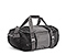 BFD Duffel Bag - 420d nylon black / gunmetal / black