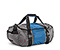 BFD Duffel Bag - 420d nylon gunmetal / blue / gunmetal