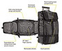 Aviator Wheeled Backpack Diagram