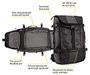 Aviator Convertible Travel Backpack 2014 Diagram