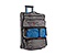 Conveyor Wheeled Duffel Bag - ballistic nylon gunmetal / blue / gunmetal 