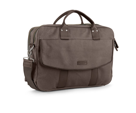 Hudson Laptop Briefcase Front