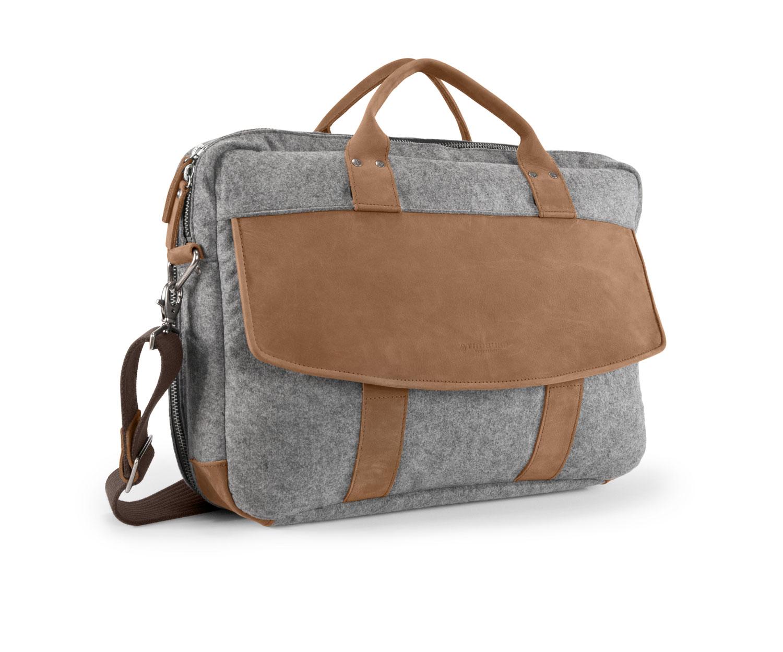 Hudson Laptop Briefcase 2014 Front