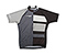 Men's Team Cycling Jersey - subliminated lycra photo print black