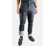 Men's 12.5 OZ Riding Denim by Upright Denim Front