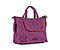 Clipper Tote Bag - ballistic nylon village violet