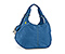 Full-Cycle Scrunchie Yoga Tote Bag - recycled pet ripstop blue fc / blue fc