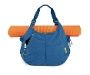 Full-Cycle Scrunchie Yoga Tote Bag Open