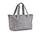 Parcel Tote Bag - texture grey / grey