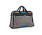 Jetway Travel Tote Bag - ballistic nylon gunmetal / blue / gunmetal