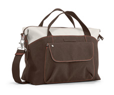 1200D Poly Weathered Canvas Dark Brown
